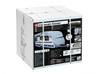 HOUSSE COUVRE CARAVANE PVC 432X225X220CM (4.26a4.65)