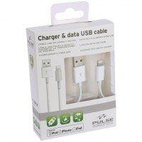 CABLE USB MFI APPLE 100CM