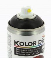 KOLOR DIP PEINTURE FINITION NOIR METALLIQUE - SPRAY 400 ML