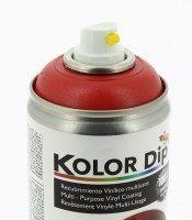 KOLOR DIP PEINTURE FINITION ROUGE METALLIQUE - SPRAY 400 ML