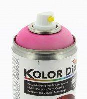 KOLOR DIP PEINTURE FINITION ROSE FLUO - SPRAY 400 ML