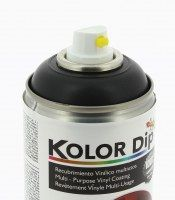 KOLOR DIP PEINTURE FINITION GUN METAL - SPRAY 400 ML