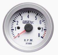 COMPTE TOURS ESSENCE 270° RACE SPORT DIAM. 52MM.12V.