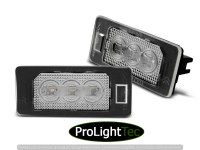 ECLAIRAGE DE PLAQUES LICENSE LED 3x LIGHTS CLEAR fits BMW E90 / F30 / F32 / E39 / E60 / F10 / X3 / X5 / X6 (la paire) [eclcdt_tec_PRBM11]