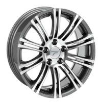 Jantes alu WHEELS K2 [9.50 x 19] GUN METAL POLISHED