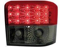 Feux arrière LED VW T4 90-03 _ rouge/noir (la paire)