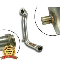 Supersprint 831011 Tube kit pour turbocharger - (Left / Right Hand Drive) - (Replace catalyseur)