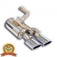 Supersprint 450547 Silencieux arrière Gauche avec valve