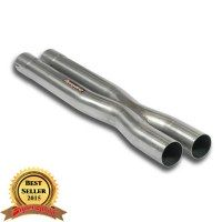 Supersprint 450313 Tube centrals kit X-Pipe - (remplace origine Silencieux central)