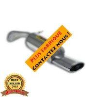 Supersprint 914825 Silencieux arrière 145x95 100% Acier inoxydable