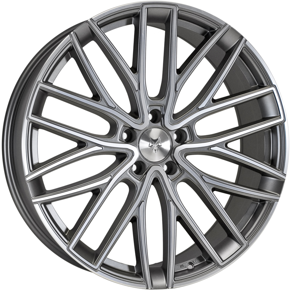 Demon Wheels Eurosport GTR Gunmetal Polished