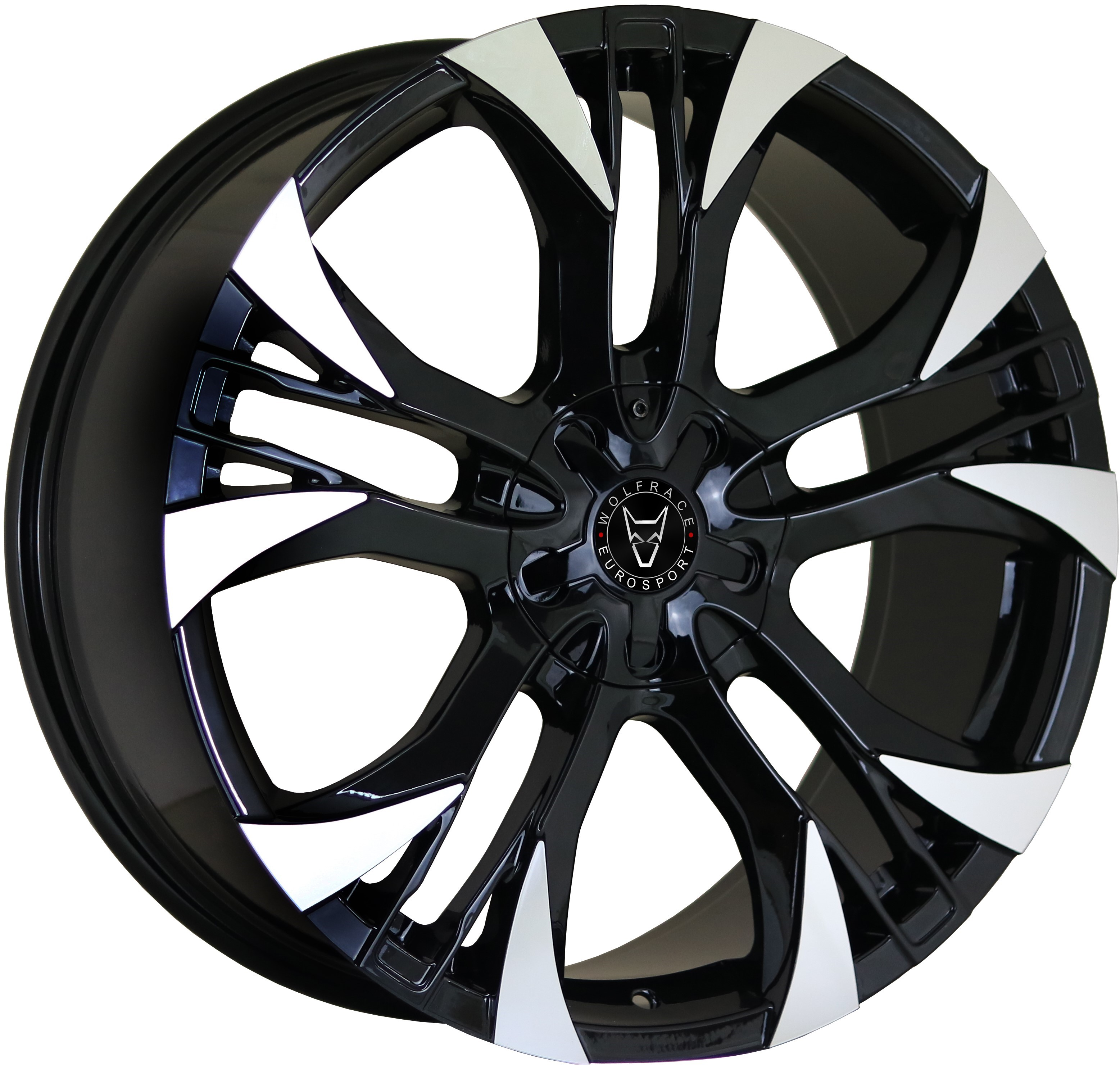 Wolfrace Eurosport Assassin GT2 Gloss Black / Polished