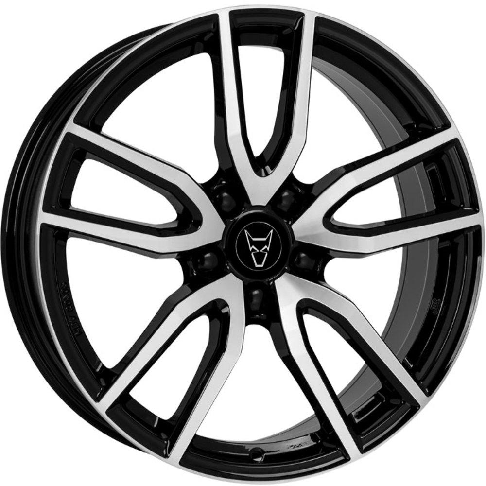 Demon Wheels Eurosport Torino Diamond Black / Polished