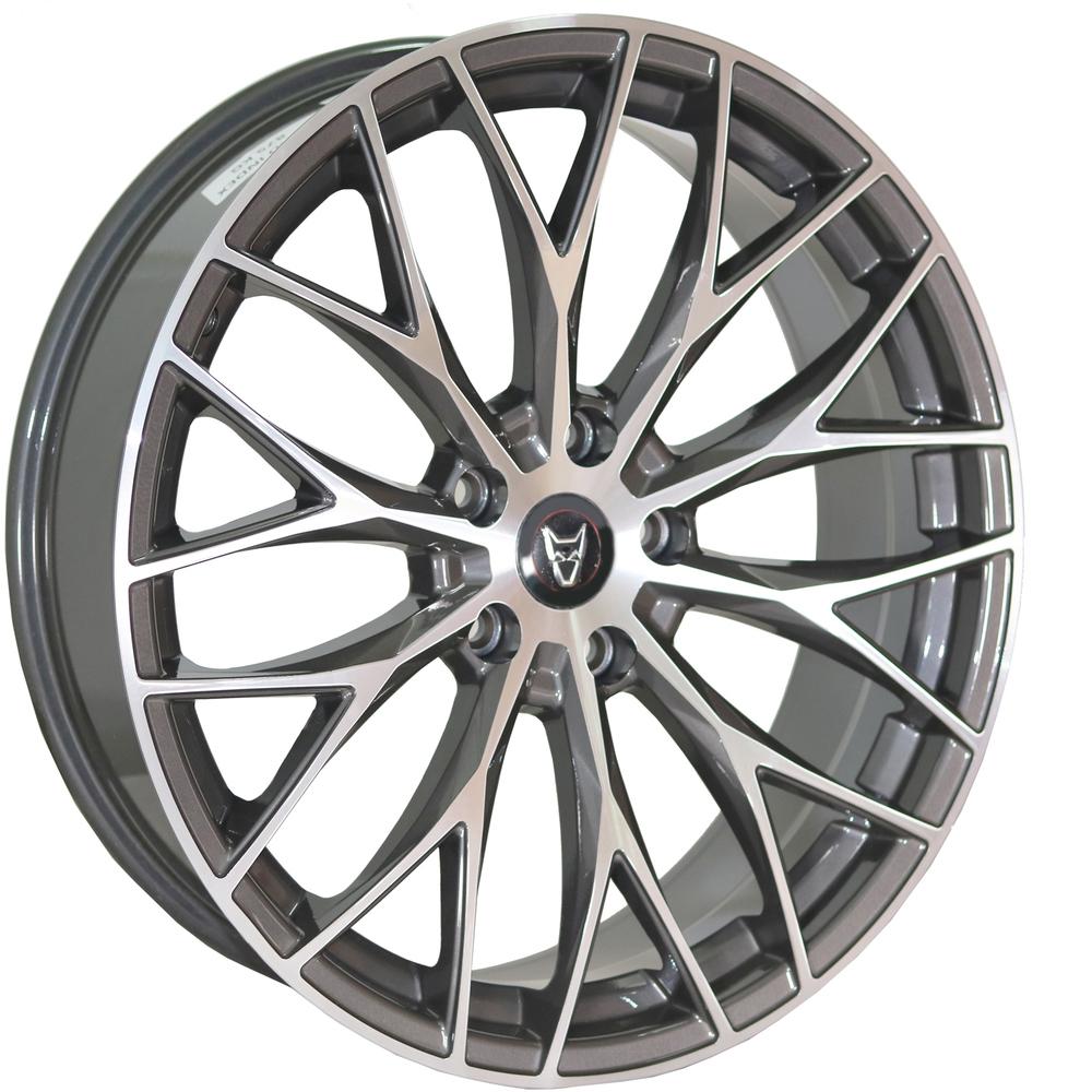 Demon Wheels Eurosport Wolfsburg Gunmetal Polished